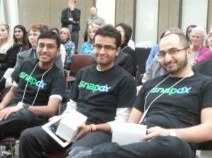 First prize winners of $10,000, SnapDx